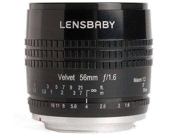 Lensbaby Velvet 56 portret makro obiektyw portretowy Canon EF Nikon F Sony A Pentax K