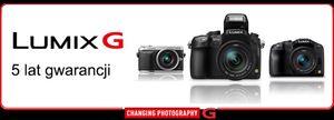 Promocja dla kupujących aparaty z serii LUMIX G od Panasonic
