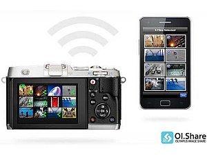 Cyfrowa ciemnia w aparacie z Olympusem - aplikacja mobilna OI. Share