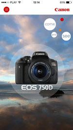 Aplikacje mobilne Canon dla najnowszych  aparatów serii EOS