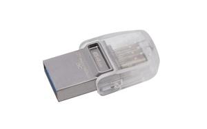 Kingston DataTraveler microDuo 3C - dwustronny pendrive
