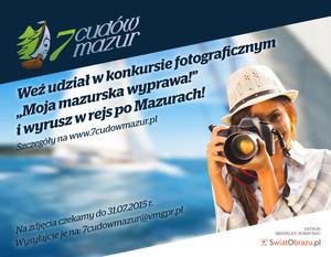Moja mazurska wyprawa - rusza konkurs fotograficzny 7 Cudów Mazur