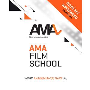 Akademia Multi Art - AMA FILM SHOOL organizuje dzień bez wpisowego
