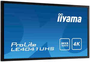 40-calowy monitor 4K z matrycą MVA - iiyama LE4041UHS-B1
