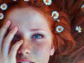 Urokliwe piękno rudych kobiet na letnich portretach 25 letniej Maji Topcagic