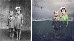 Drugie życie szklanych negatywów - najnowsze prace Jane Long