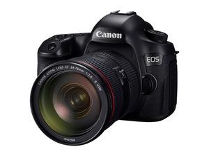Lustrzanka Canon z matrycą 120 megapikseli