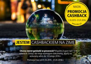 Nikon Cashback - nawet 1000 zł zwrotu w promocji firmy Nikon
