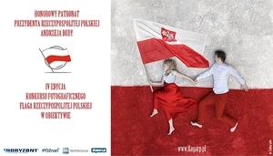 """Konkurs fotograficzny """"Flaga Rzeczypospolitej Polskiej w obiektywie"""""""