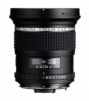Szerokokątny obiektyw Pentax-D HD FA 645 35 mm f/3.5 AL IF
