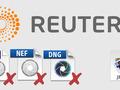 Agencja Reuters nie będzie przyjmować od fotografów zdjęć wywołanych z plików RAW