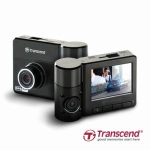 Transcend DrivePro 520 - rejestrator trasy z dwoma obiektywami