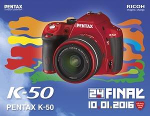 Specjalna edycja Pentax K-50 dla Wielkiej Orkiestry Świątecznej Pomocy