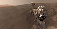Selfie marsjańskiego łazika Curiosity