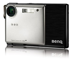 BenQ X800 - 8 megapikseli w super płaskim wydaniu