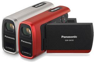 Panasonic SDR-SW20 - woda nam niestraszna