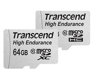 Transcend microSDXC/SDHC High Endurance - wytrzymałe karty pamięci dla kamer i wideorejestratorów