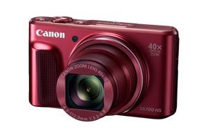 Canon PowerShot SX720 HS - najmniejszy kompakt Canon z 40-krotnym zoomem