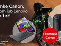 Promocja Canon: kup profesjonalną lustrzankę i odbierz  tablet za 1 zł