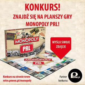 PRL w twoim kadrze - konkurs Monopoly