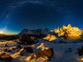 Niesamowita fotografia górska