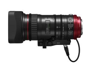 Obiektyw z serii Cinema EOS - CN-E18-80mm T4.4 L IS KAS S
