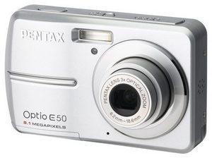 Pentax Optio E50 - coś dla początkujących