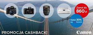 Canon Cashback: ponad 30 produktów  w promocji i zwrot nawet do 860 zł