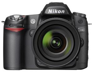 Aktualizacja firmwaru Nikona D80