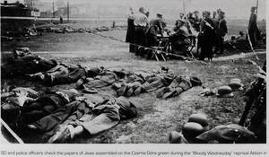 Błąd w amerykańskiej encyklopedii na temat Krwawej Środy w Olkuszu