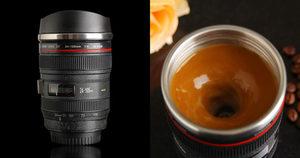 Kubek Canon 24-105mm, który sam miesza napoje