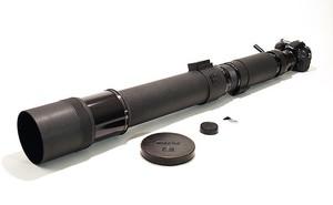 Rzadki obiektyw Nikona Nikkor 1200mm f/11 wystawiony na sprzedaż