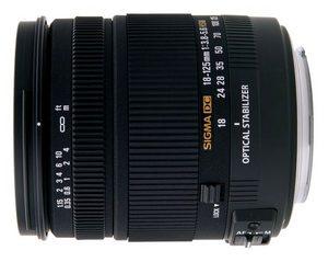 Sigma 18-125mm f/3.8-5.6 DC OS HSM - zamiast kita