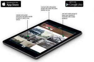 Clixta - aplikacja do przechowywania starych fotografii