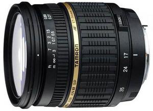 PMA 2008. Tamron SP AF17-50mm dla Pentax'a