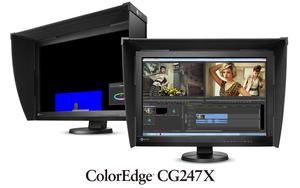 Nowy monitor EIZO ColorEdge CG247X do postprodukcji i edycji video