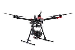 Średni format w powietrzu - dron DJI i Hasselblad