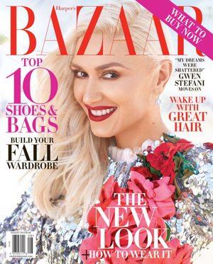 Gwen Stefani i Alexi Lubomirski w sesji dla sierpniowego Harpers Bazaar