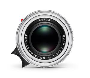LEICA APO-SUMMICRON-M 50 mm f/2 ASPH w wersji Silver