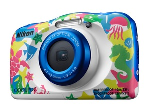 Nikon COOLPIX W100 - wodoszczelny i wstrząsoodporny aparat kompaktowy