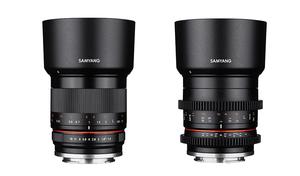 Obiektyw fotograficzny Samyang 35mm f/1.2 oraz filmowy Samyang 35mm T/1.3