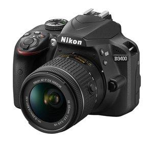 Nikon D3400 - amatorska lustrzanka cyfrowa z technologią SnapBridge