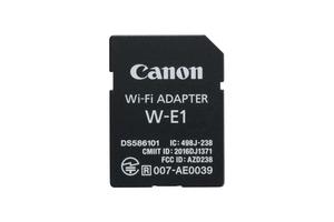 Karta Canon Wi-Fi W-E1 - bezprzewodowe przesyłanie zdjęć