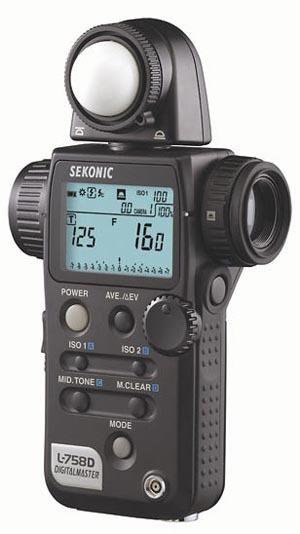 Światłomierz Sekonic L-758 Digital Master