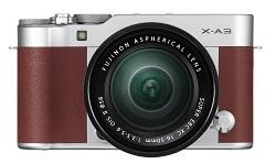 Fujifilm X-A3 - bezlusterkowiec dla amatorów selfie