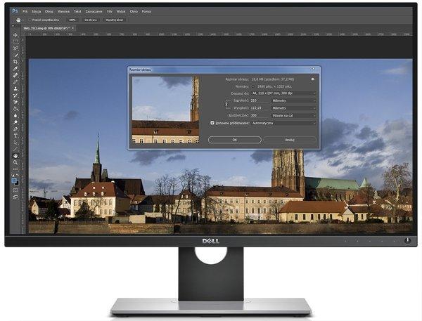 Dell UltraSharp UP2716D edycja zdjęć poradnik cykl fotografia cyfrowa Adobe Photoshop Lightroom kadrowanie skalowanie kompozycja