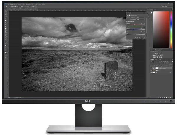 Dell UltraSharp UP2716D edycja zdjęć poradnik cykl fotografia cyfrowa Adobe Photoshop Lightroom fotografia czarno-biała konwersja do czerni i bieli tonowanie mikser kanałów
