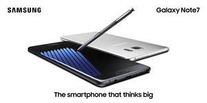 Samsung Galaxy Note7 zapalają się lub wybuchają