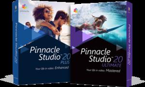 Program Pinnacle Studio 20  z opcją edycji wideo 360