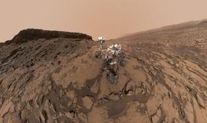 Najnowsze selfie z Marsa